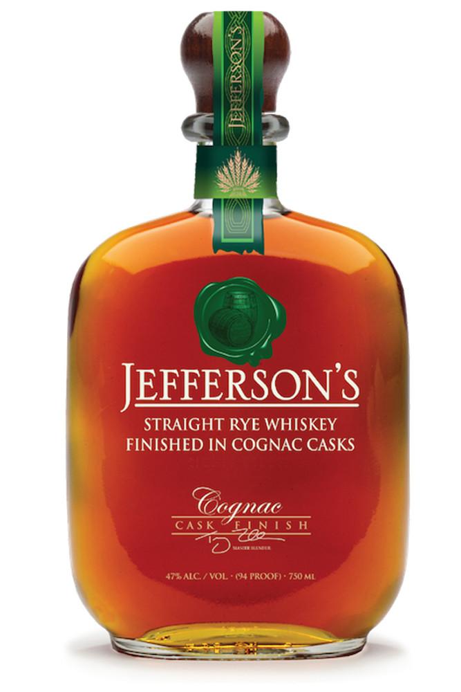 Jeffersons Rye Cognac Cask Finish