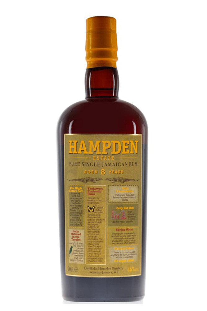 Hampden 8 Year Jamaican Single Estate Rum