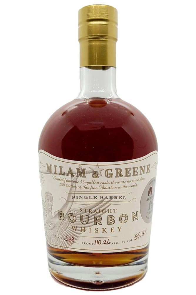 Milam & Greene 12 Year Liquor Barn Single Barrel Bourbon