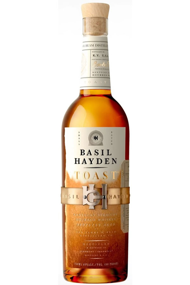 Basil Haydens Toast Bourbon