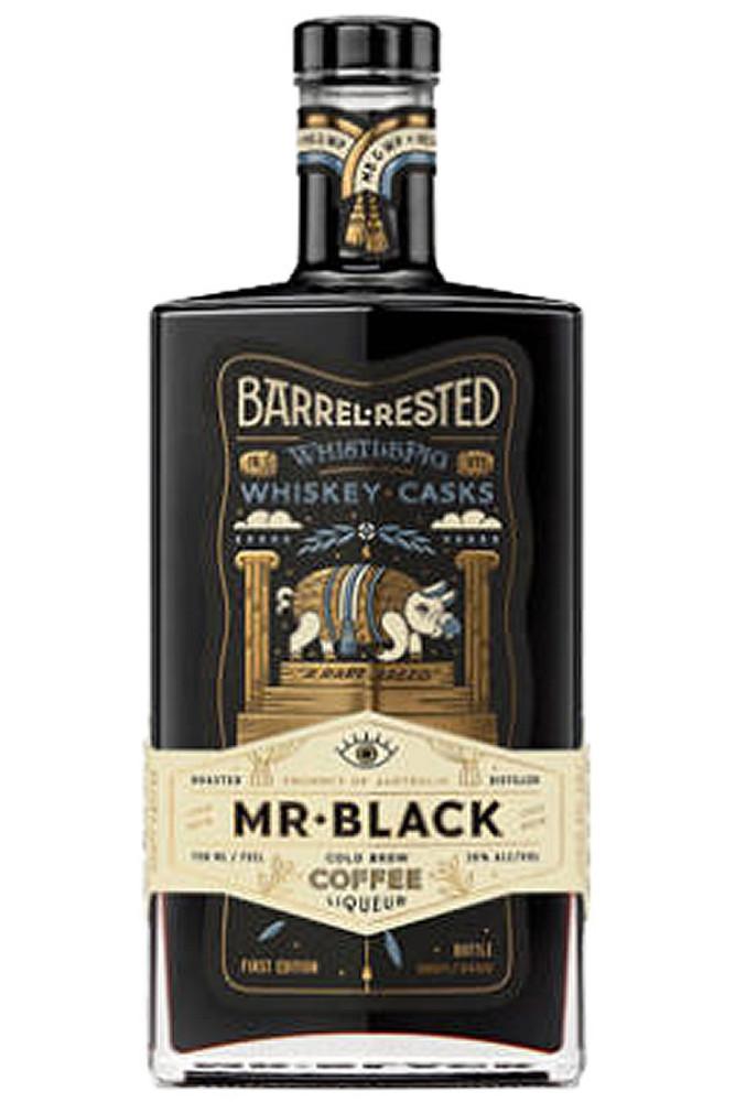 Mr Black Barrel Aged Whistlepig Coffee Liqueur