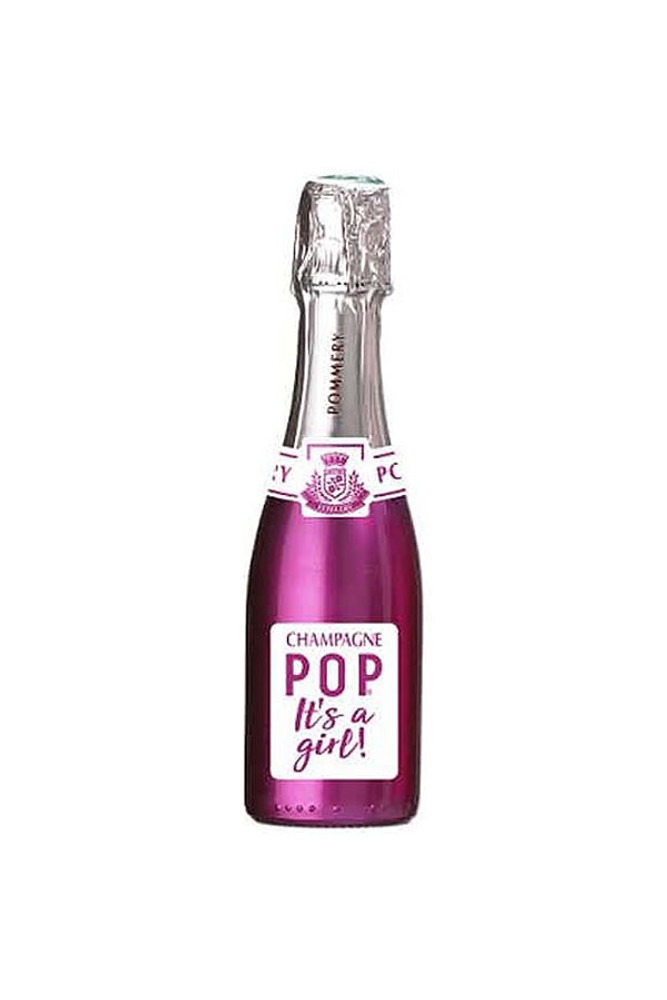 Pommery Pop Champagne It's A Girl Rose