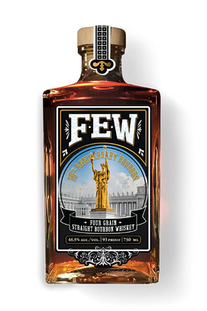 Few Spirits 10th Anniversary Four Grain Straight Bourbon Whiskey