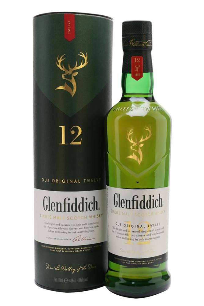 Glenfiddich 12 Year Single Malt