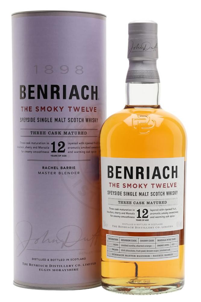 Benriach Smoky 12 Year 750ML