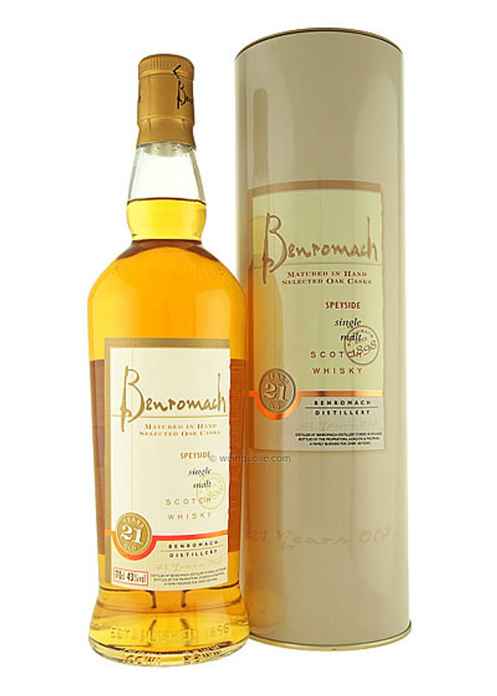 Benromach 21 Year