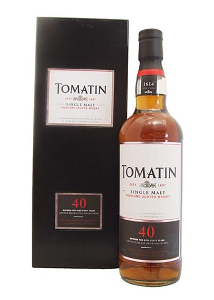 Tomatin 40 Year