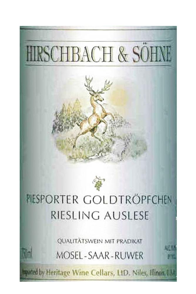 Hirschbach & Sohne Piesporter Goldtropfchen Riesling Auslese