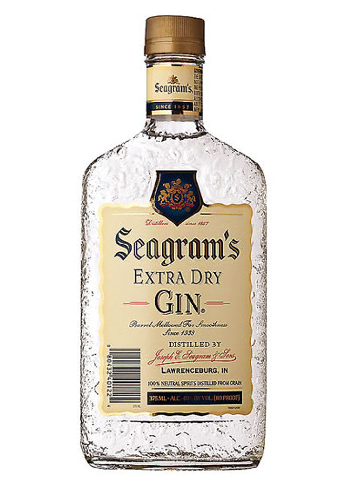 Seagrams Gin 375ML