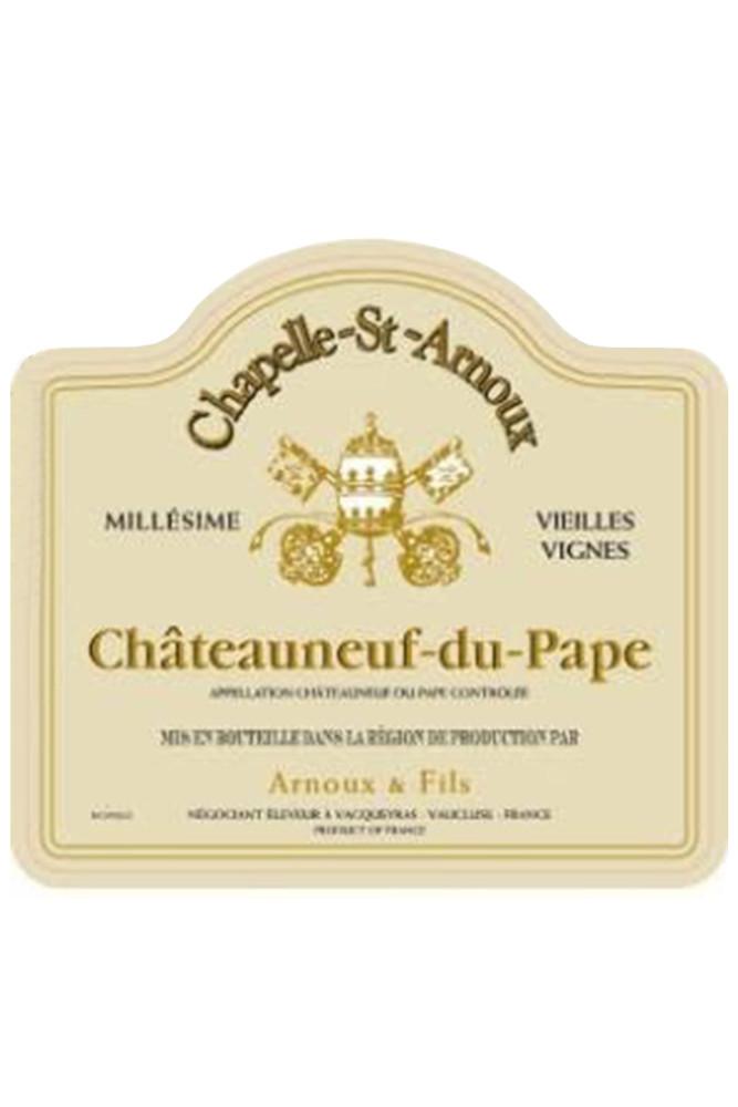 Chapelle St Arnoux Chateauneuf du Pape Vielles Vignes