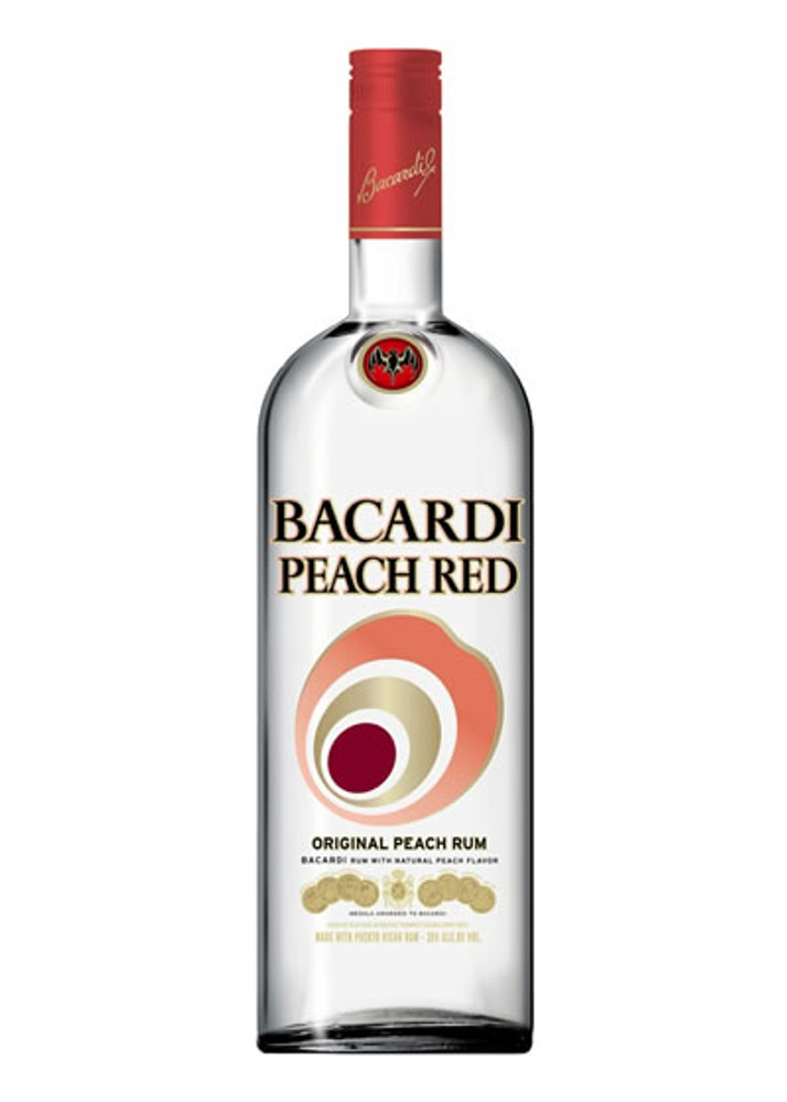 Bacardi Peach Red 750
