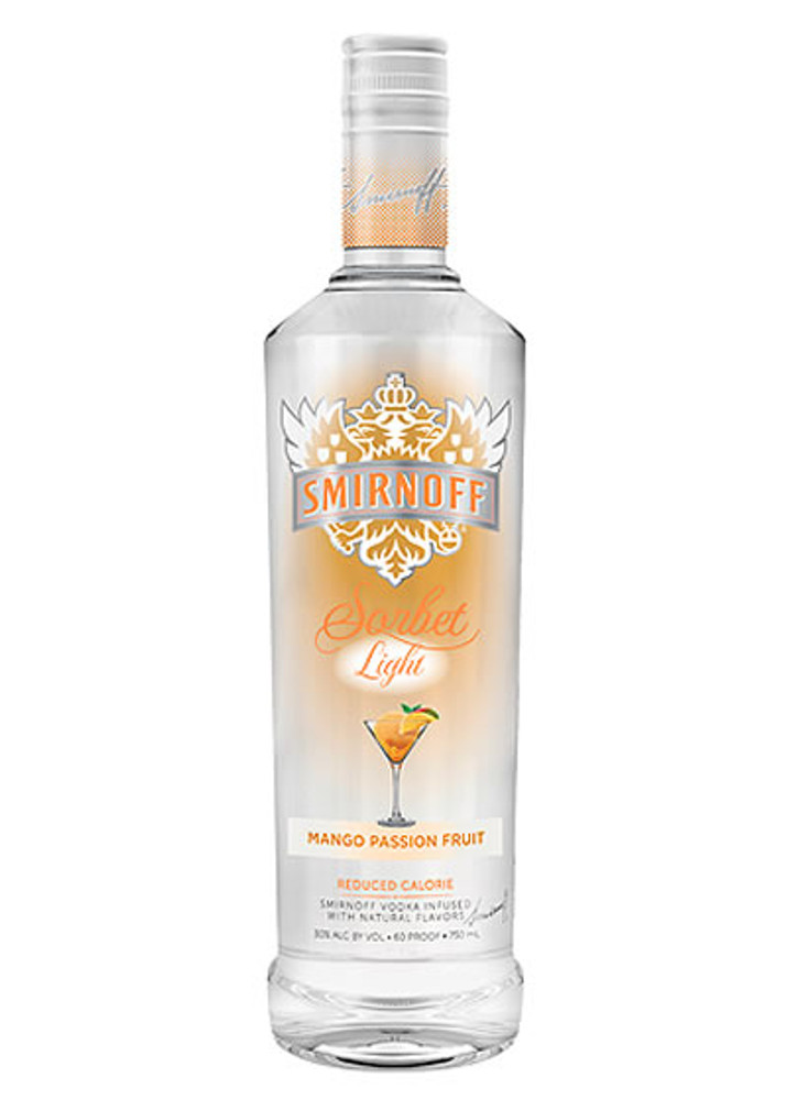 Smirnoff Sorbet Light Mango Passion Fruit