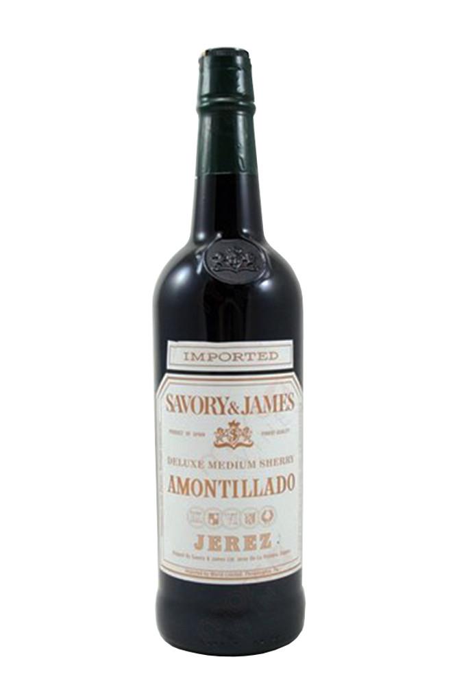 Savory & James Amontillado Sherry