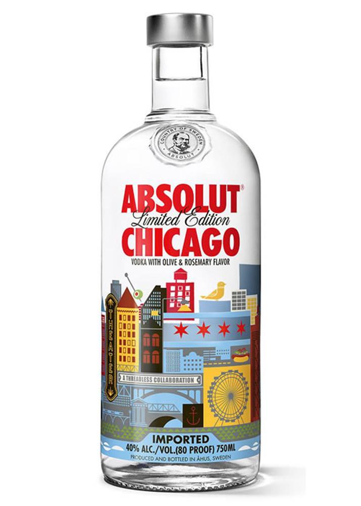 Wonderbaarlijk Absolut Chicago Vodka ES-96