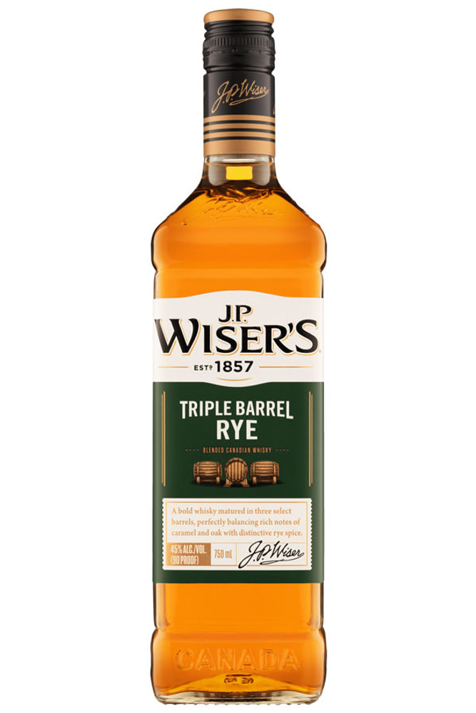 JP Wiser's Triple Barrel Rye