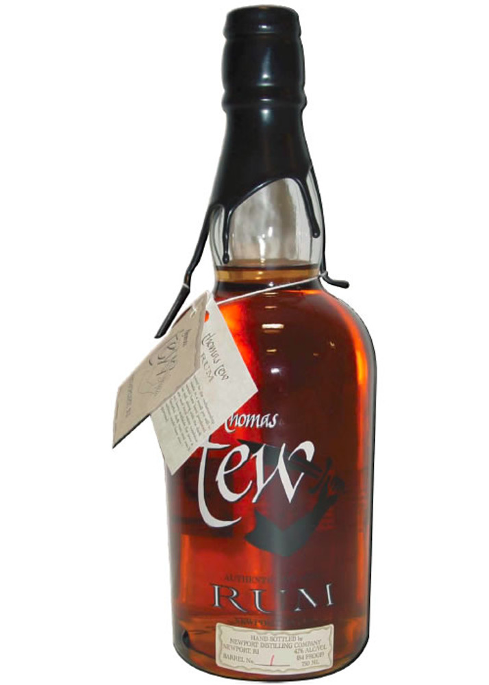 Thomas Tew Single Barrel Black Strap Molasses Rum