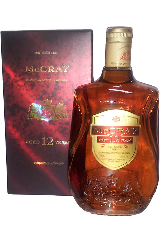McCray 12 Year Blended Scotch