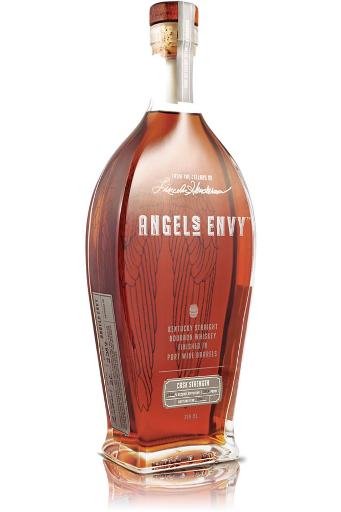 Angels Envy Port Barrel Finished Bourbon Cask Strength