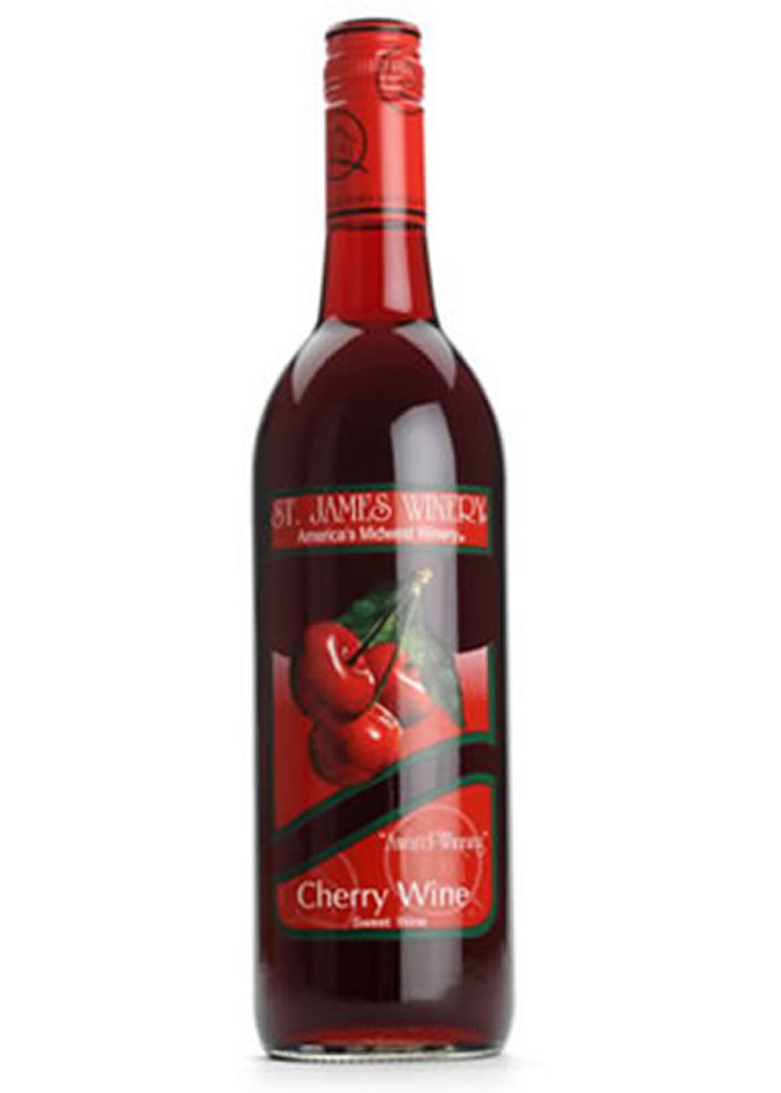 St James Cherry Wine