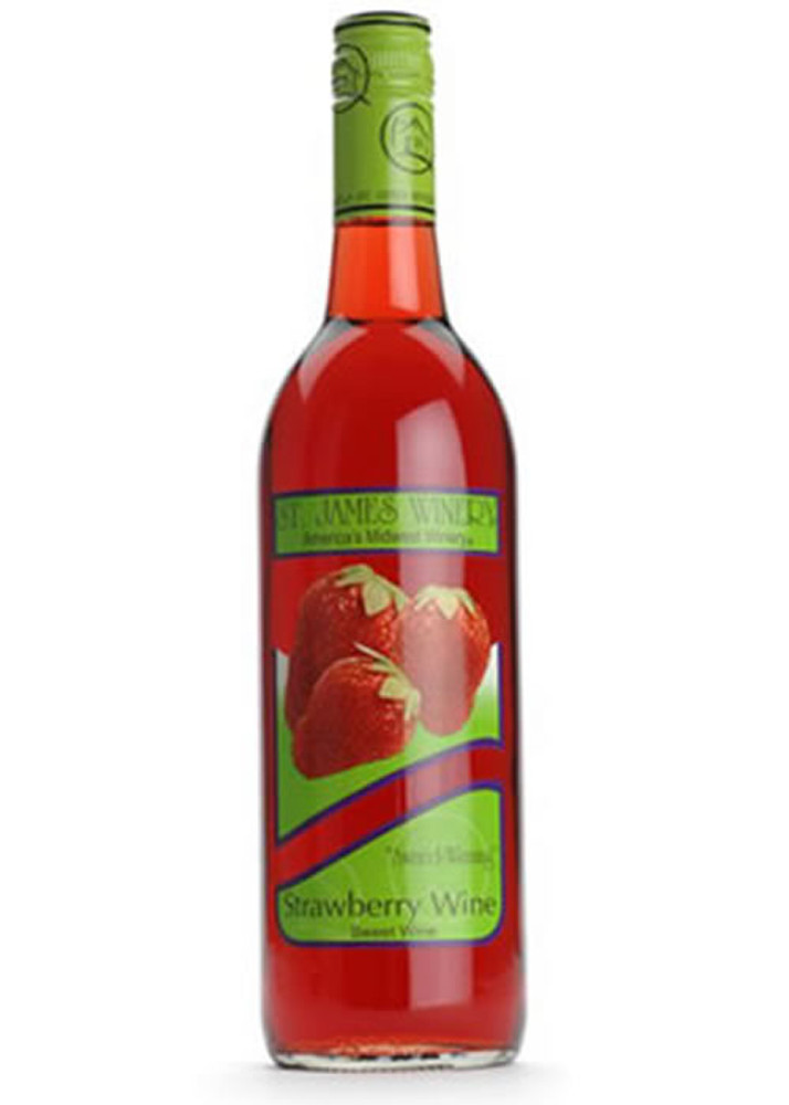 St James Strawberry Wine