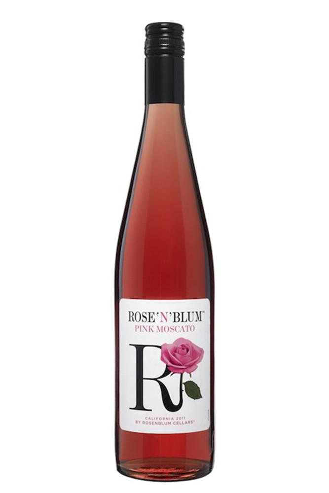 Rose N Blum Moscato Rose Sparkling