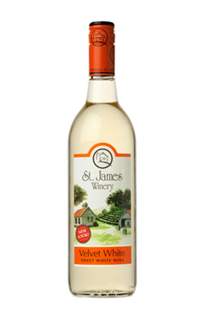 St James Velvet White