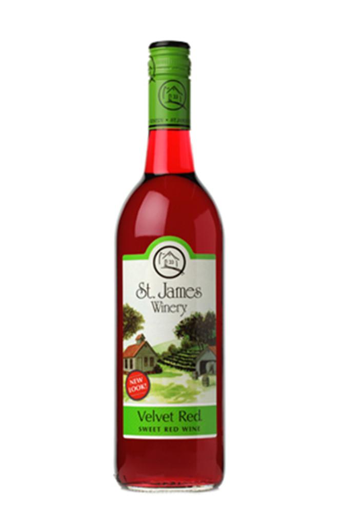 St James Winery Velvet Red