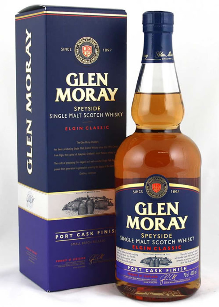 Glen Moray Elgin Classic Port Cask Finish