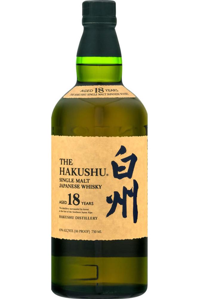 Suntory Hakushu 18 Year Old