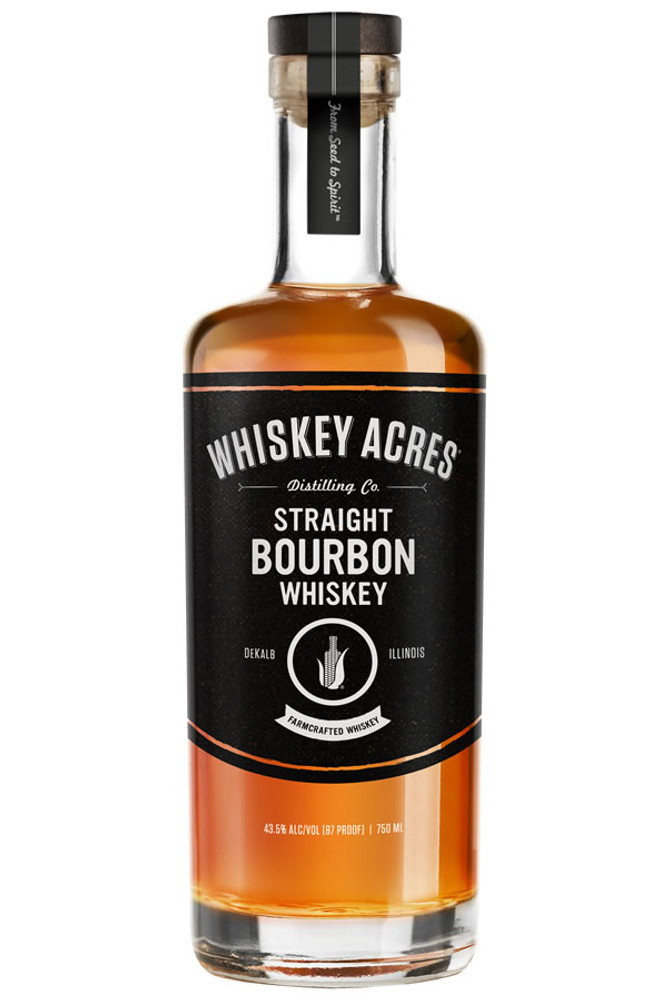 Whiskey Acres Farm Crafted Bourbon Whiskey