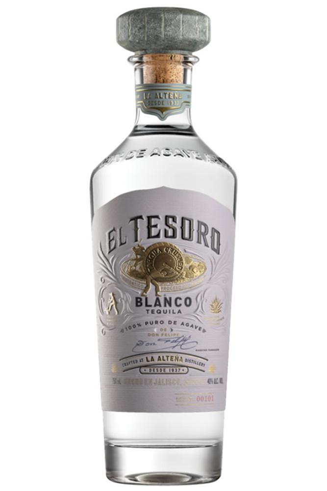 El Tesoro Blanco Tequila