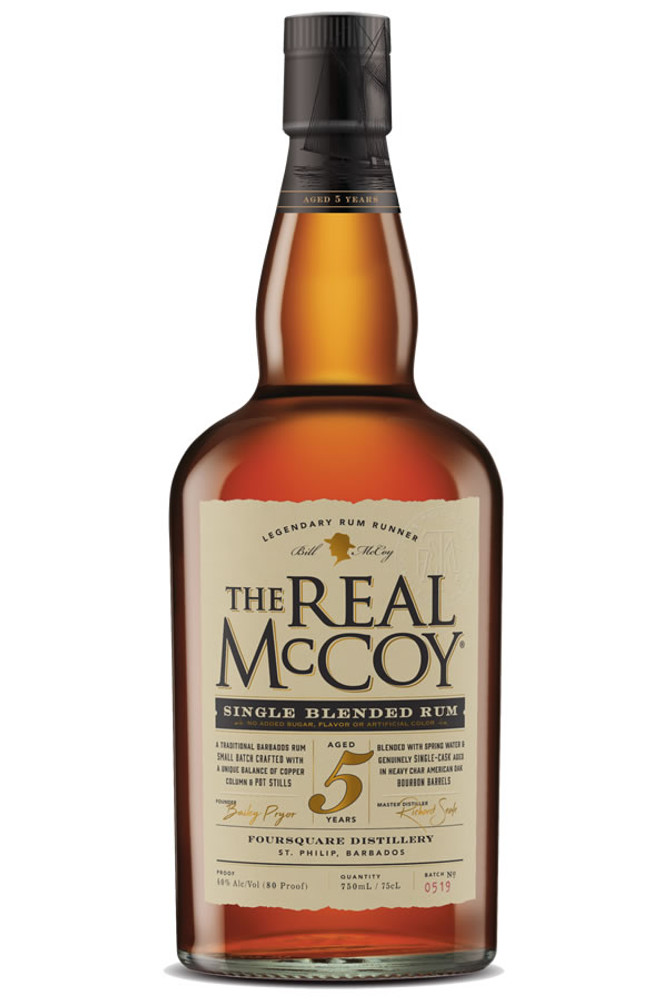 The Real McCoy 5 Year Barbados Rum