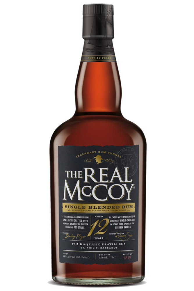 The Real McCoy 12 Year Barbados Rum