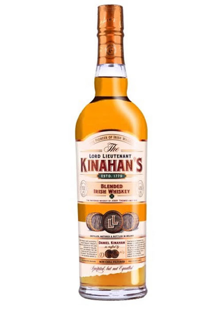 Lord Lieutenant Kinahan's Blended Irish Whiskey