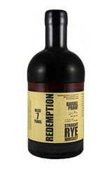 Redemption Rye 7 Year Barrel Proof