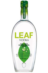Leaf Alaskan Glacial Water Organic Vodka