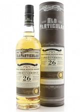 Old Particular Cameronbridge 26 Year Single Grain Scotch