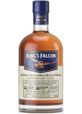 King's Falcon Bourbon Cask Single Malt