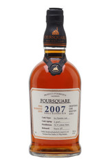 Foursquare 2007 12 Year Rum Barrel Strength