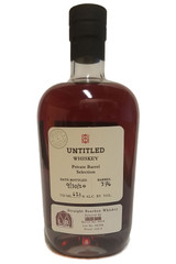 One Eight Untitled 13 Year Single Barrel