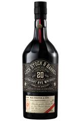 Lock, Stock & Barrel 20 Year Straight Rye