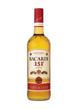 Bacardi 151 Rum 750