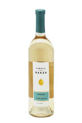 Simply Naked Unoaked Pinot Grigio