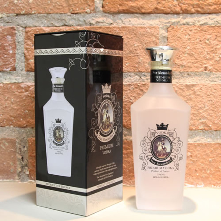 Tsar Alexander Vodka 750ML