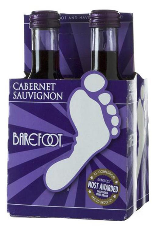 Barefoot Cabernet Sauvignon 4Pk 187ML