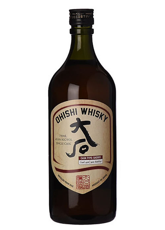 Ohishi Distillery Sherry Cask Whisky