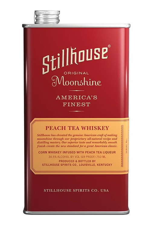 Stillhouse Peach Tea Moonshine Whiskey