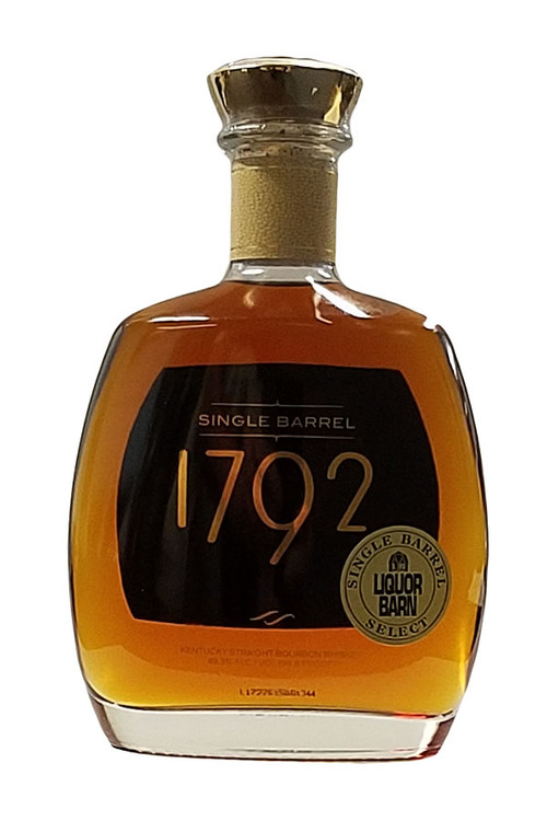 1792 Bourbon Liquor Barn Barrel 750ML