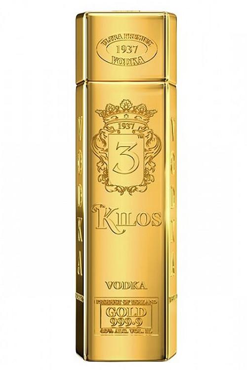 3 Kilos Gold Vodka 750ML