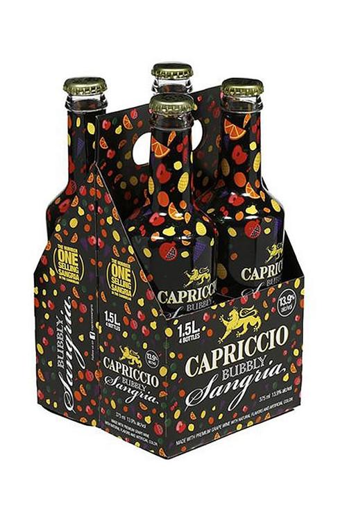 Capriccio Bubbly Sangria 375ML 4PK